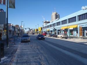 Улица в Анкоридж