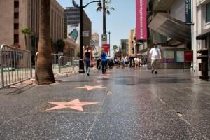 Улица со звёздами в Лос-Анджелесе