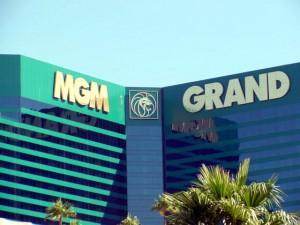 Верхняя часть отеля MGM Grand