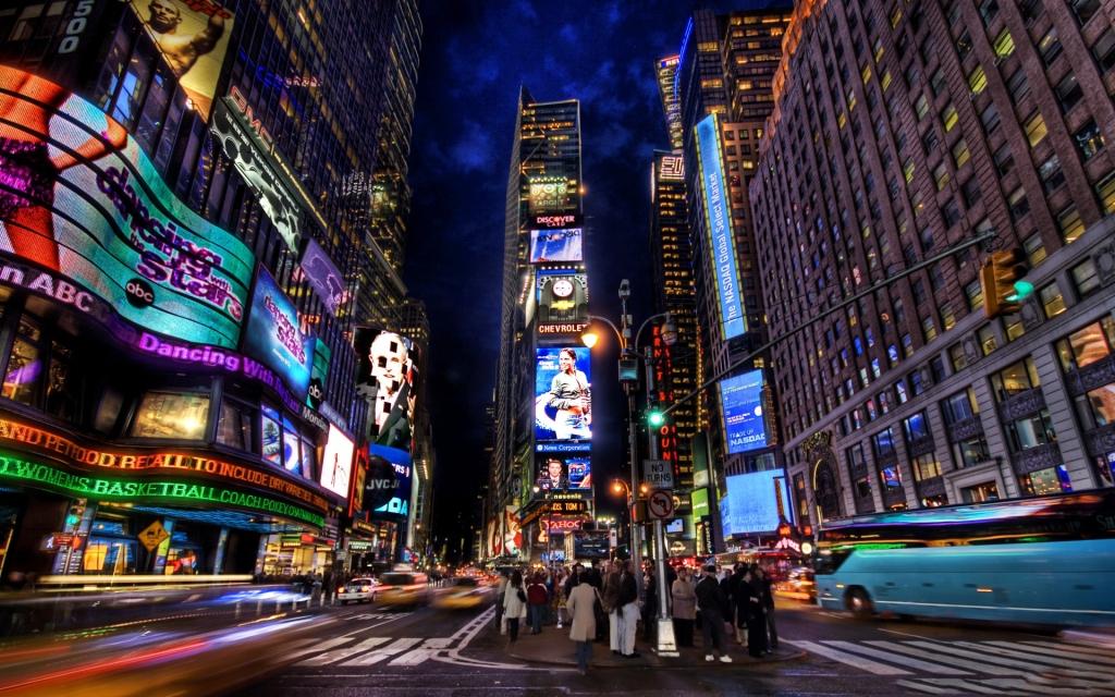 Электронные дома и улицы Америки - фото