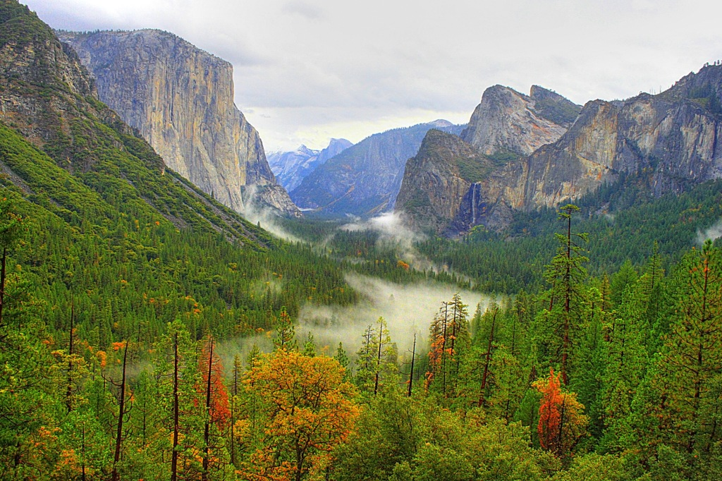 Красивая горная природа Америки - фото
