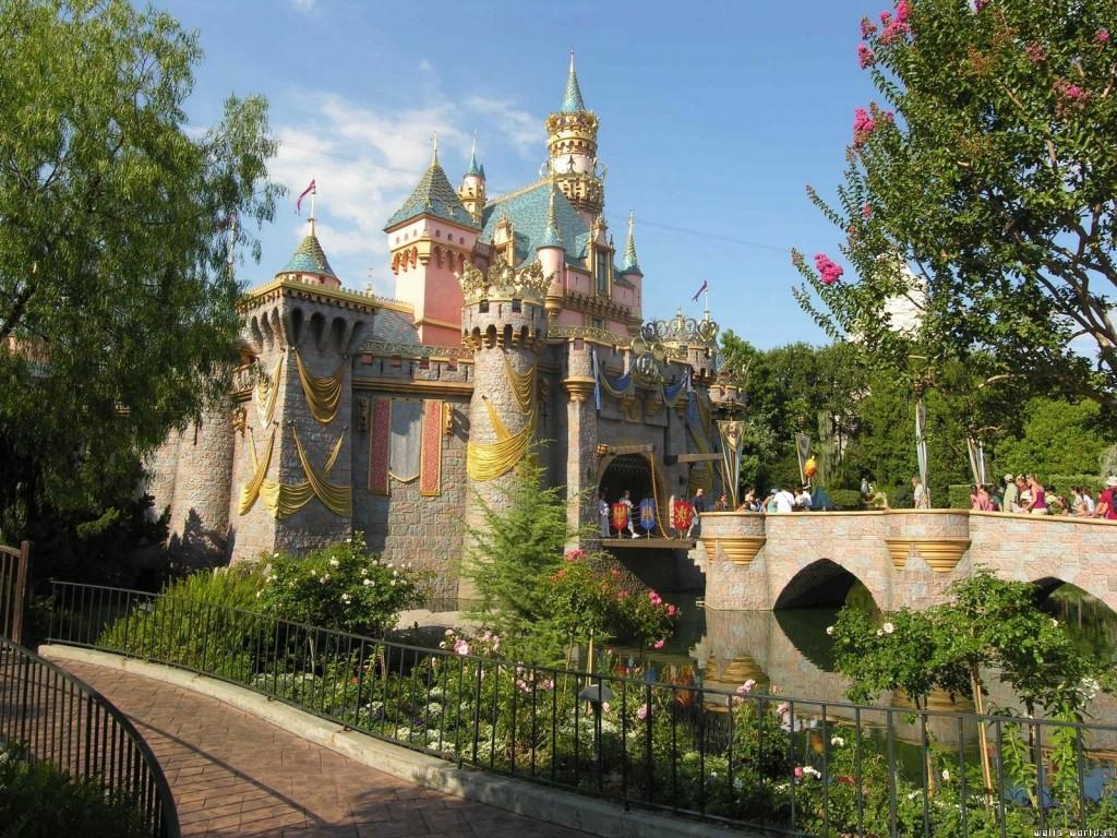 Сказочный замок в США - фото