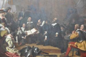 Первые собрания первых колонистов