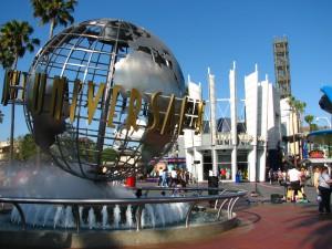 У входа Universal Studio