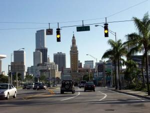 На улицах города Майами