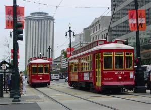 Транспорт на улицах Нового Орлеана