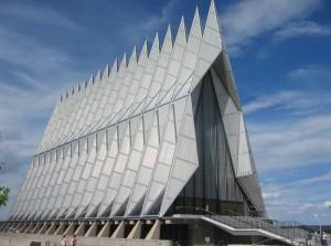 Красивое сооружение в Колорадо-Спрингс