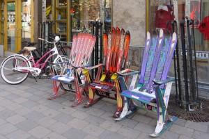 Спортивный инвентарь на улице Брекенридж