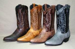Красивые ковбойские сапоги