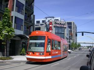 Трамвай на улице Цинциннати