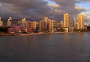 Финансовый центр Гонолулу на Гавайях