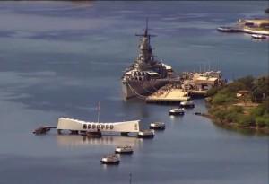 Мемориал кораблю Оризона на Гавайях