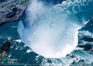 Знаменитый водопад в Америке