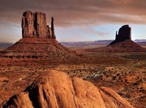 Скалы в одной из пустынь Аризоны
