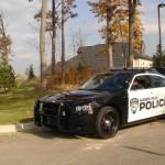 Американский полицейский автомобиль