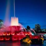Букингемский фонтан в Чикаго