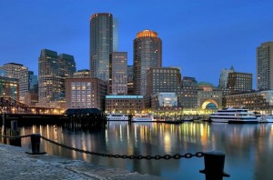 Вечерняя_набережная_Бостона