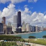 Вид на набережную Чикаго