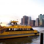 Водное такси в Нью — Йорке