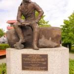 Памятник Баранову в Ситке