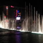 Поющие фонтаны Белладжио в Лас-Вегасе