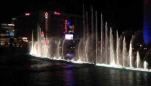 Поющие фонтаны отеля Белладжио