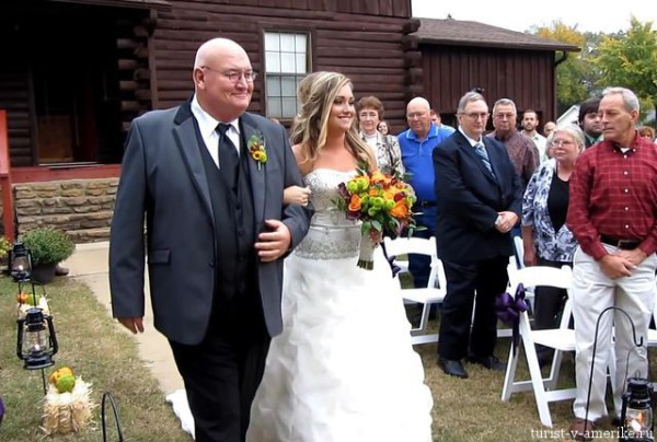 Американская свадьба