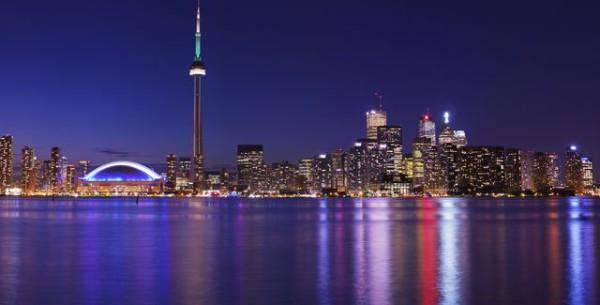 Торонто_ночью