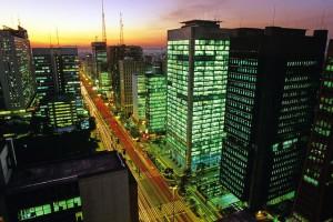 Сан-Паулу _ночью