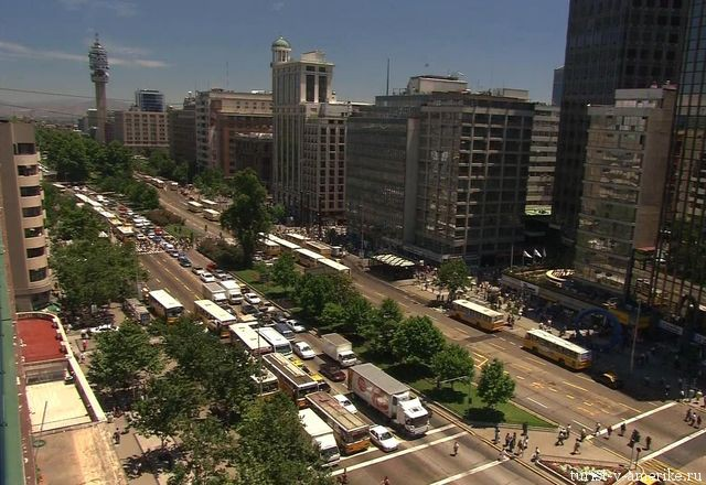 Улицы_Сантьяго_Чили