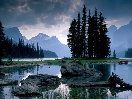 Горное_озеро_в_национальном парке Лос-Гласьярес