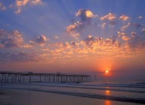 Закат_на_пляже_Флориды