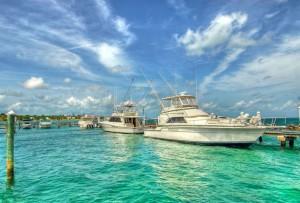 Яхты_на_Багамских_островах