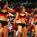 Девушки группы поддержки NBA Chicago Bulls. Черлидинг