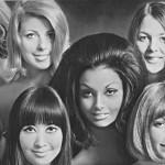 Женские прически 60-70х годов в Америке