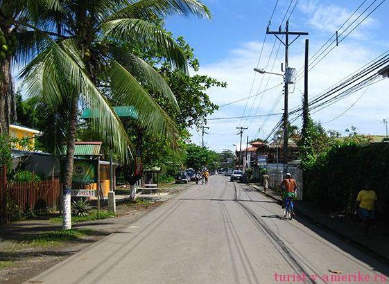 Улица в Пуэрто Вьехо