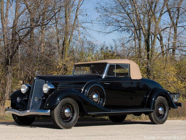 Классический_американский_автомобиль_1934 Buick Series  90 Convertible Coupe