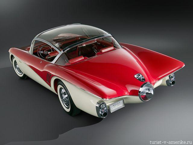 Классический_американский_автомобиль_Buick_Centurion_Concept_Car _1956