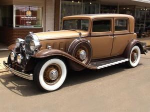 010. Buick Chuck Bidwell's custom-bodied 1932 90 Series Town Car