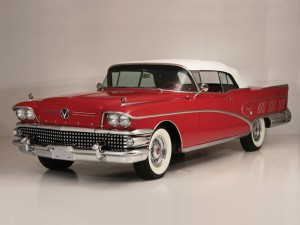 018. Buick Limited Convertible (756) 1958
