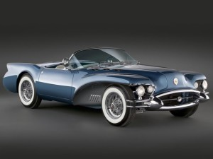Buick Wildcat II Concept Car 1954