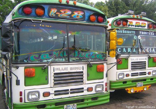 Автобусы_в_Санта-Ана_Сальвадор