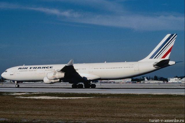 Самолет_авиакампании_Air-France