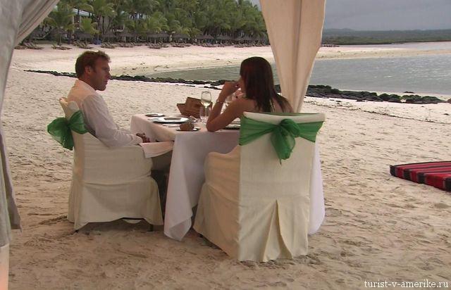 Пляжный_ресторан_отеля_Доминиканы