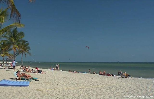 Пляж_в_Штате_Флорида_США