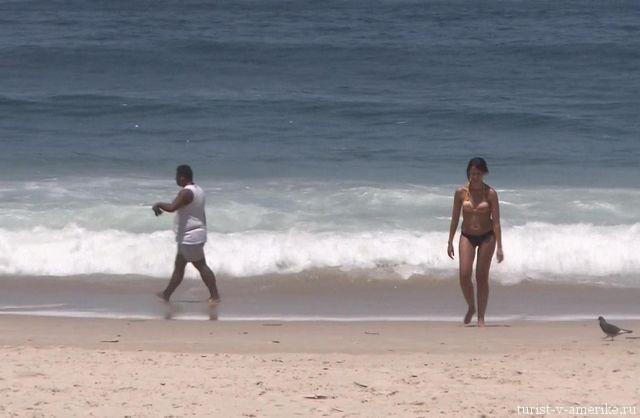 Пляж_Ипанема_Бразилия