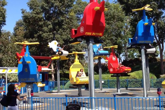 Аттракционы_в_Legoland Los Angeles