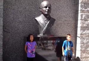 Памятник_Гатсону_Борглум_гора_Рашмор