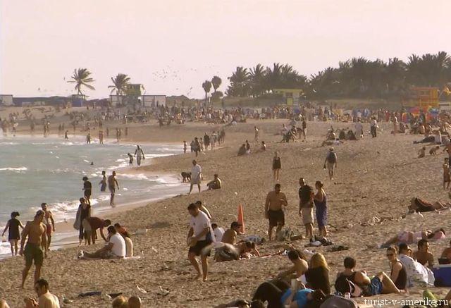Пляж_в_США_Флорида_фото