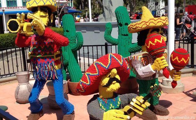 Фигуры_людей_из_конструктора_Legoland Los Angeles